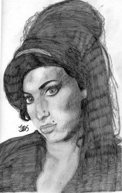 Bbc Blast Art Design Amy Winehouse