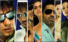 The Bollywood stars in Cash