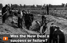 Watch 'Was the New Deal a success or failure?' video
