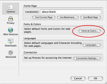 The Default Sansserif Font In Firefox For Mac