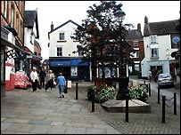 Victoria Square, Ashbourne