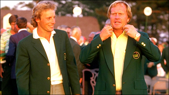 Nicklaus was a dominant force at Augusta