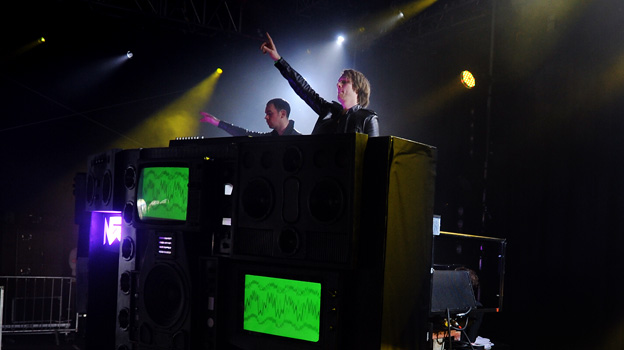 Nero at Big Weekend 2011
