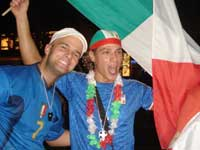 Italian supporters
