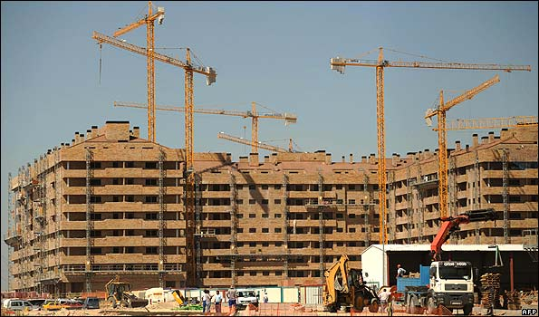 New housing complex in Sesena, near Madrid - file pic