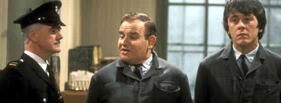 The British TV series 'Porridge'