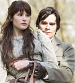 Gemma Arterton as Tess and Hans Matheson as Alec D'Urberville