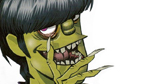 Murdoc Niccals from the Gorillaz
