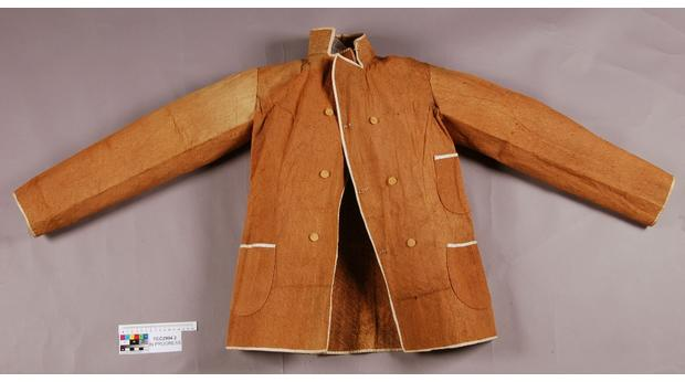 Barkcloth jacket from the Indian Ocean