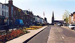 Main Street in Lurgan town