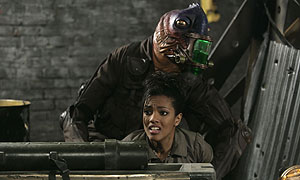 Freema Agyeman in Doctor Who: The Doctor's Daughter