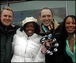 Paul, Chantelle, Marcus and Marti