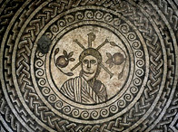 The Hinton St Mary Mosaic, 4th century AD, Dorset, England