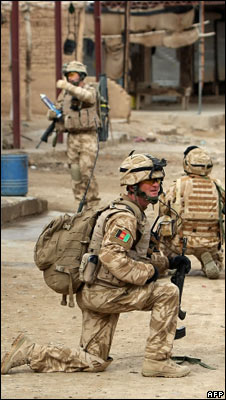 UK forces in Afghanistan