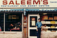Saleem's restaurant and sweet shop