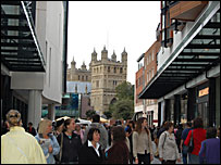Princesshay and Cathedral
