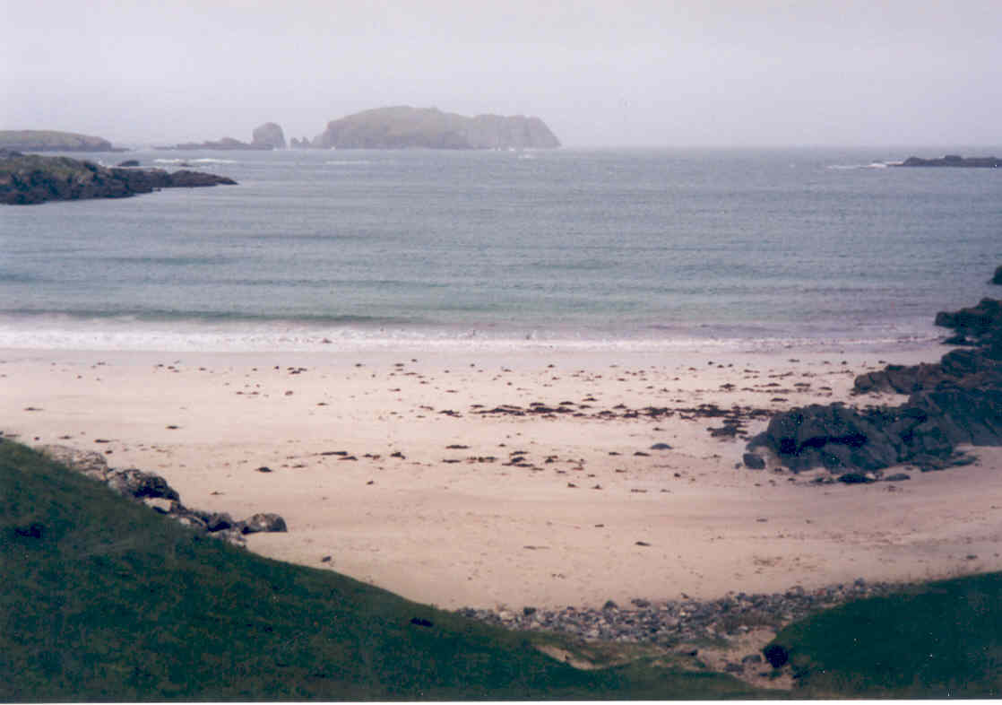 Bosta Beach, looking north towards Old Hill