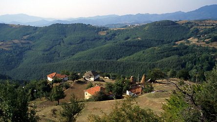 Village in Southern Bulgaria © BBC