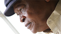 South African trumpeter Hugh Masekela considers his native country's music