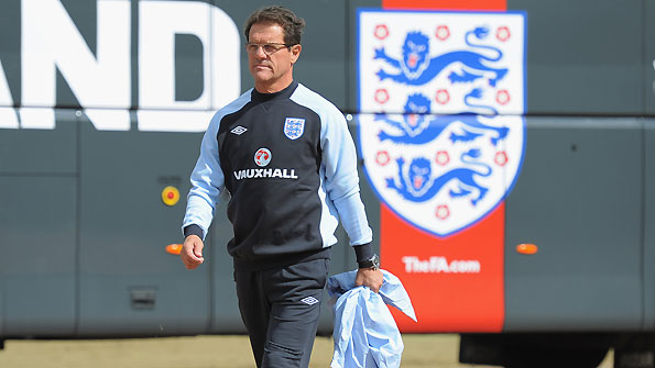 England coach Fabio Capello.