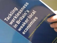 Front cover of the Tackling worklessness in Britain's weaker local economies