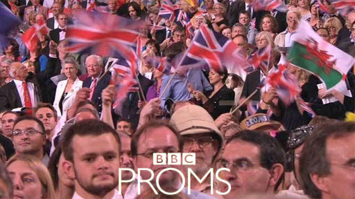 Land of Hope and Glory – the last night of the proms.