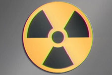 Nuclear radiation logo