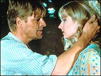 Sean Bean and Joely Richardson in Lady Chatterley