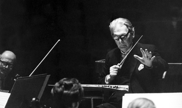 Otto Klemperer with the New Philharmonic Orchestra