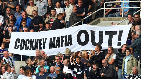 Newcastle banner