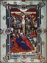 Depiction of the crucifixion