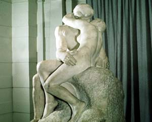 Auguste Rodin's 'The Kiss'