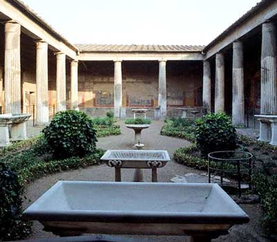 Garden of the House of the Vettii