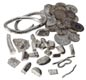 Vikings used silver, in coins or small pieces, like we use money. These pieces of silver were buried by a Viking trader or settler on the Isle of Skye.