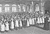 Image of a school assembly c.1901