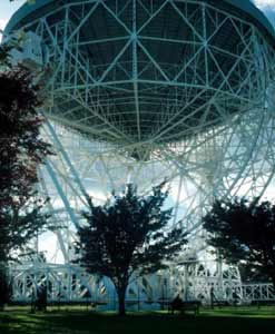 Mighty Scoffold of the Radio Telescope