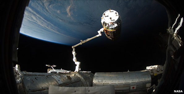 The robotic systems on the space station are key Canadian contributions to the ISS project.
