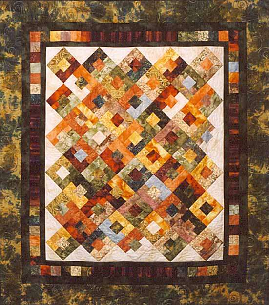Loose Thread Quilters  - Finnian's Rainbow