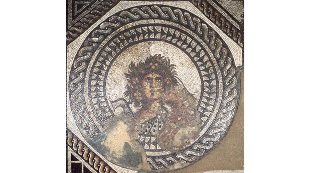 Roman Seasons mosaic from Cirencester