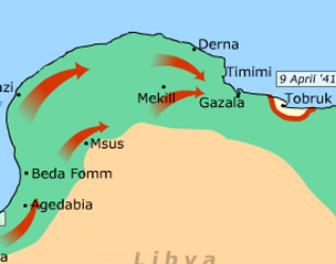 North Africa World Map.Bbc History World Wars Animated Map The North African Campaign
