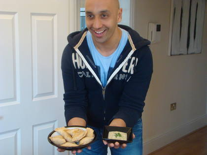 Check out Tommy's healthy samosas