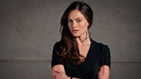 Lara Pulver plays Erin Watts, new acting leader of Section D in Spooks