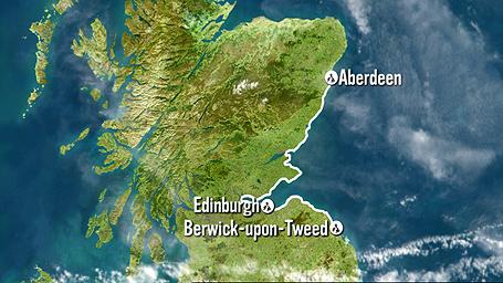BBC Coast - Where is aberdeen