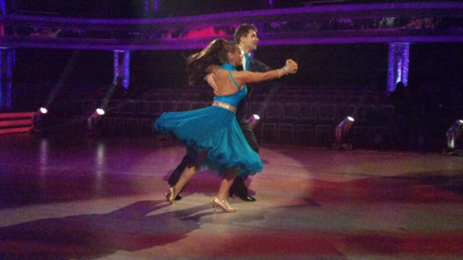 Chelsee Healey and Pasha Kovalev dancing.