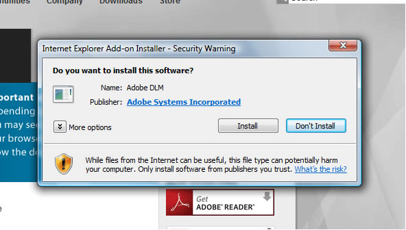 BBC - WebWise - How do I install the Adobe Flash Player plug