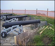 Cannon at Rousse