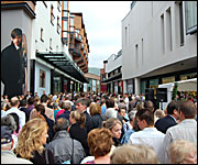 Crowds at Princesshay