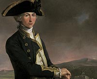 Captain Horatio Nelson in 1781