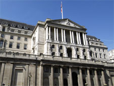 Exterior of the Bank of England in London