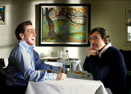 Rob Brydon and Steve Coogan in The Trip. Photo: BBC/Revolution